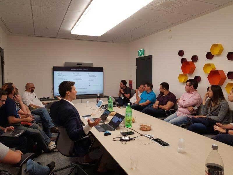 Conhecendo startups inovadoras na EY em Tel Aviv