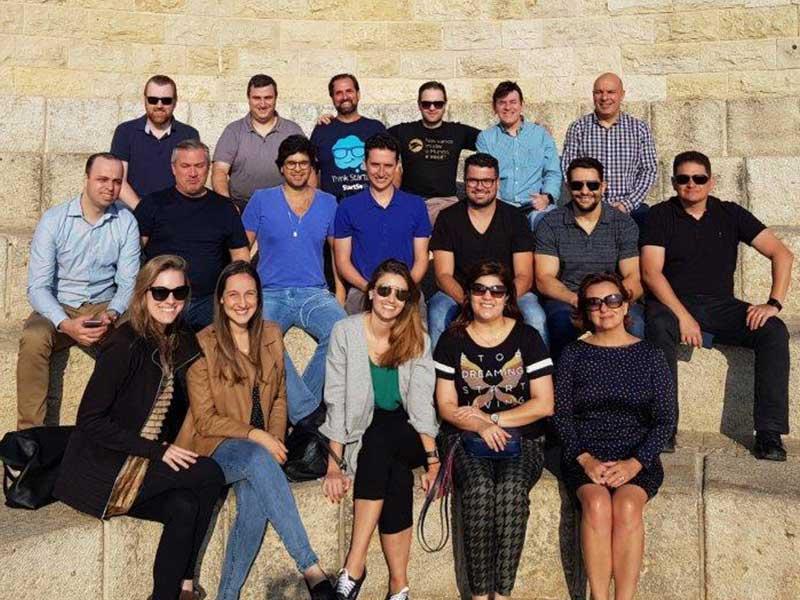 Participantes da primeira Missão Israel