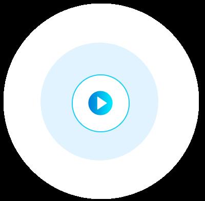 Imagem de um botão de play