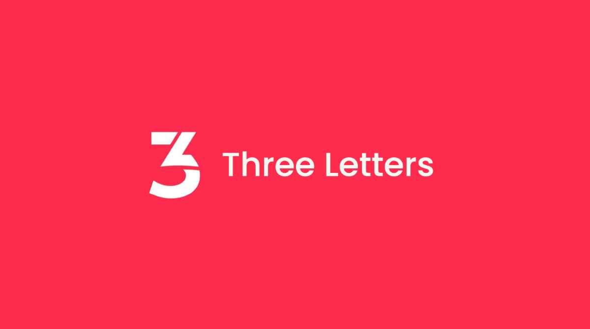 Three Letters Logo