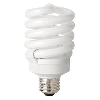 tcp 48923ss50k 23w t3 coil cfl light bulb commercialbulbs com