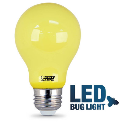 Feit Electric A19 Bug Led A19 Yellow Led Light Bulb