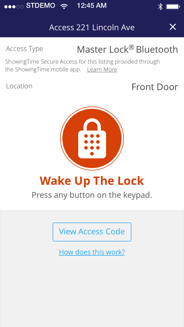 How to use the ShowingTime App with your Master Lock lockbox