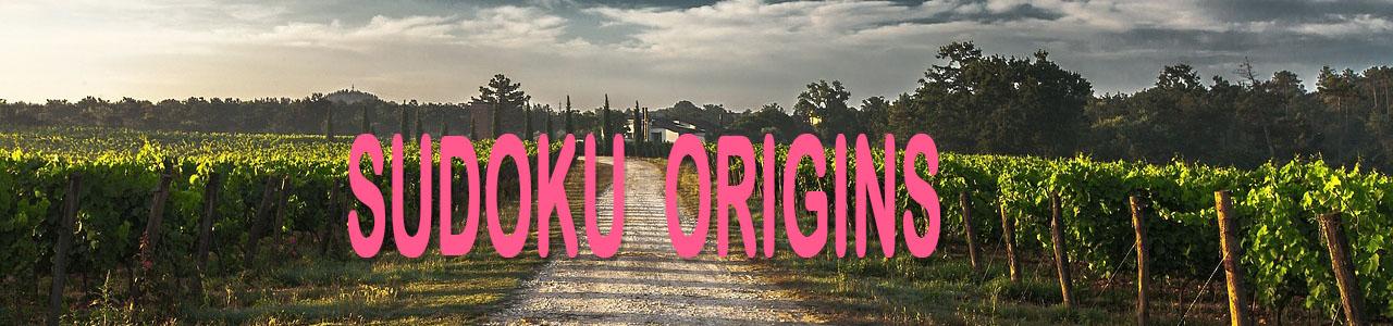 sudoku origins