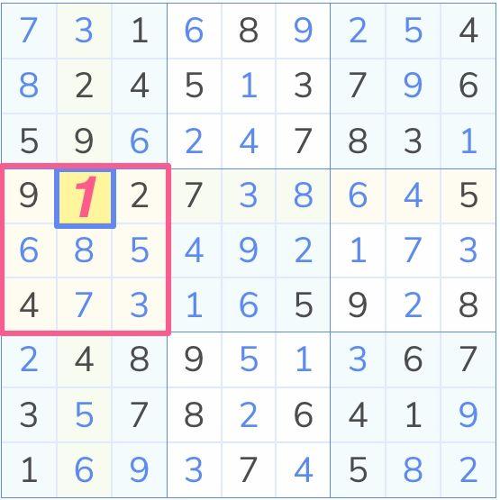 sudoku solved by last digit technique