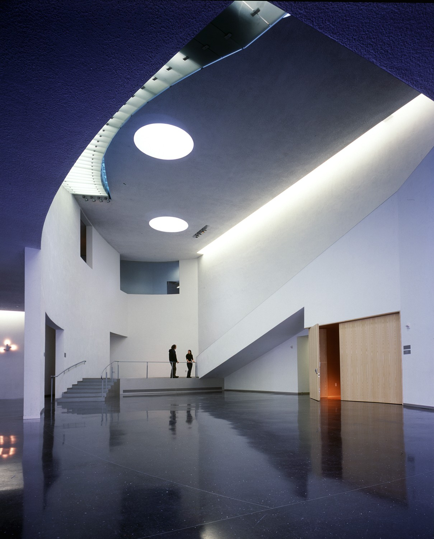 BELLEVUE ARTS MUSEUM STEVEN HOLL ARCHITECTS