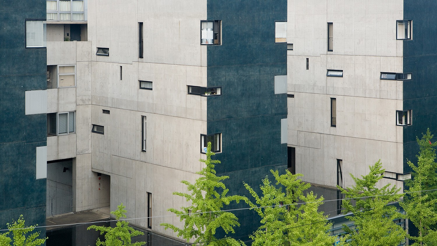 Void Space Hinged Space Housing Steven Holl Architects