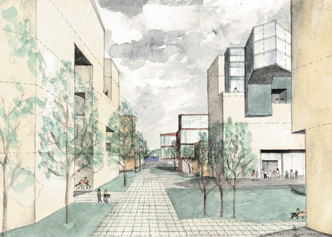 UCSF MISSION BAY MASTER PLAN - STEVEN HOLL ARCHITECTS