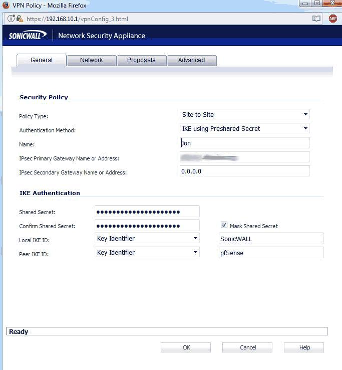IPsec VPN Site to Site (Sonicwall <-> pfsense)   Netgate Forum