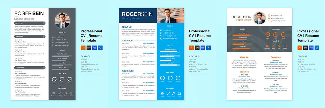 free resume template for google docs, picastock