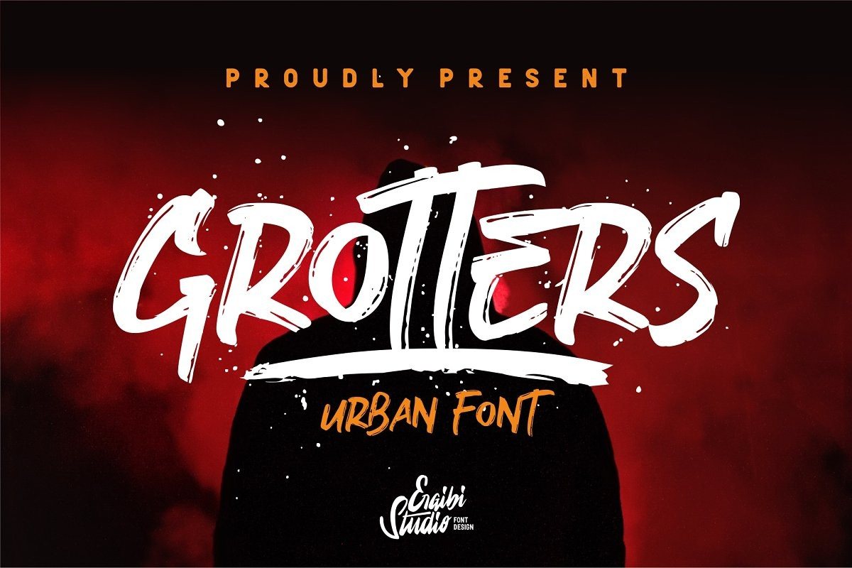 free font to download, grotters urban, picastock