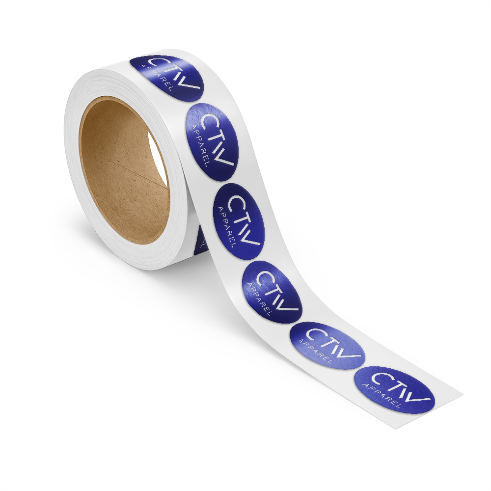 icon for Foil Stamped Roll Labels