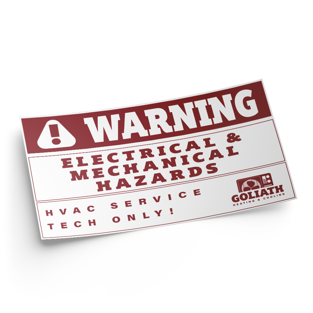 Example image for Industrial Decals