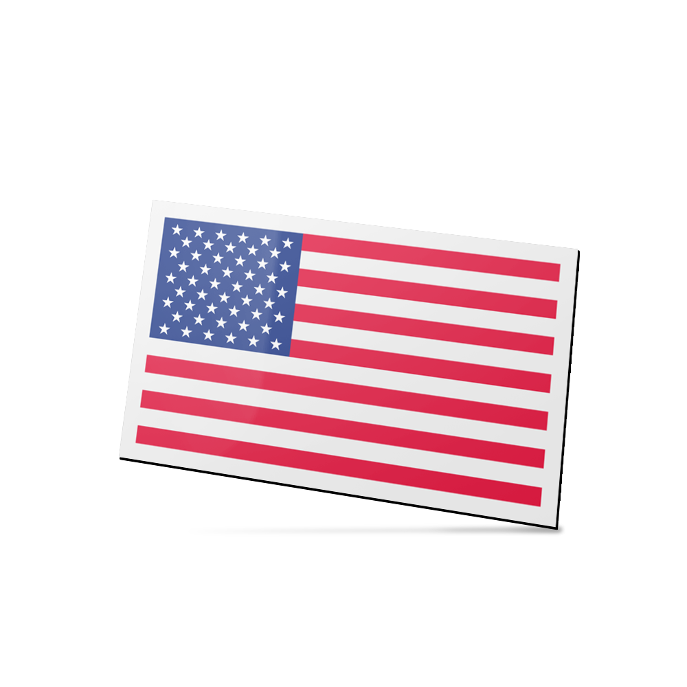 Example image for Patriotic Stock Flag Magnet