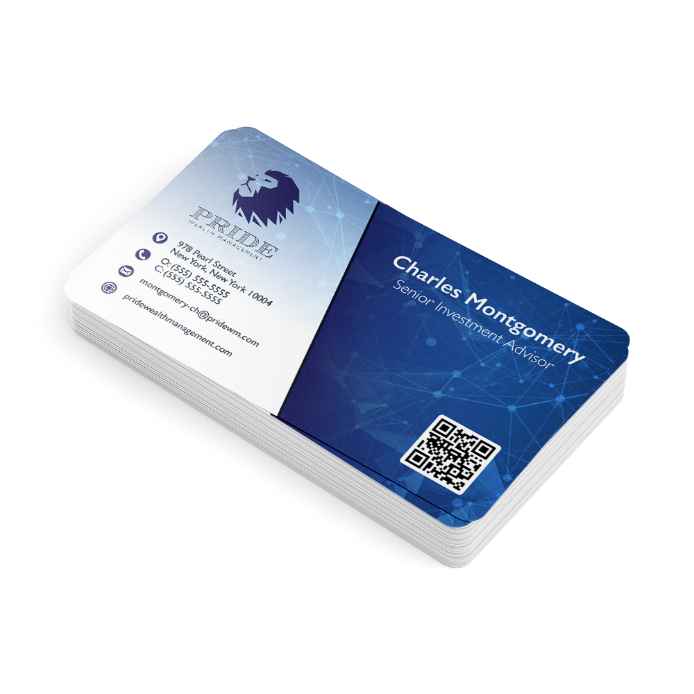 Example image for Plastic Business Cards