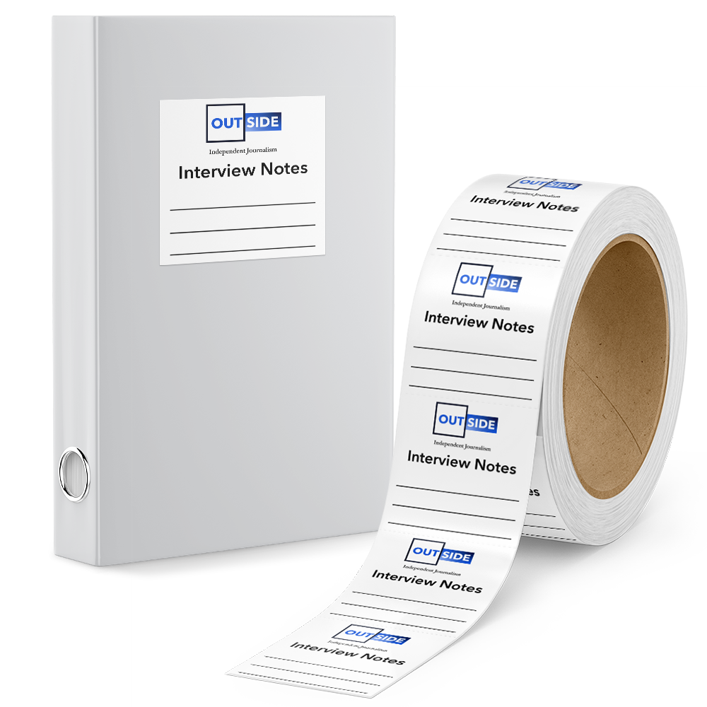 Example image for Roll Labels