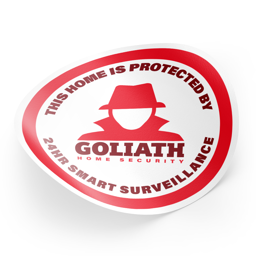 Example image for Security Decals