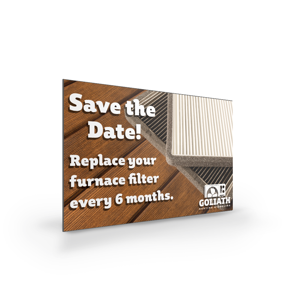 Example image for Save The Date Magnets