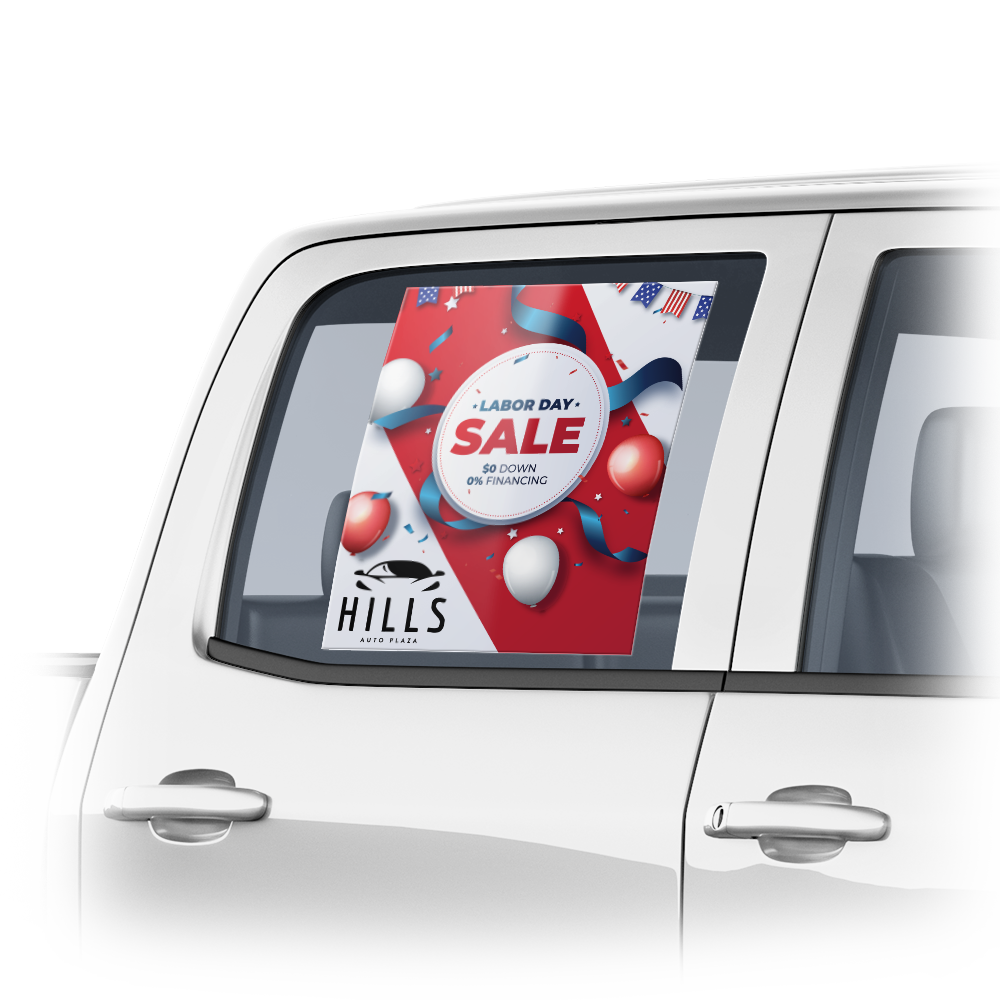 icon for Vehicle Window Labels