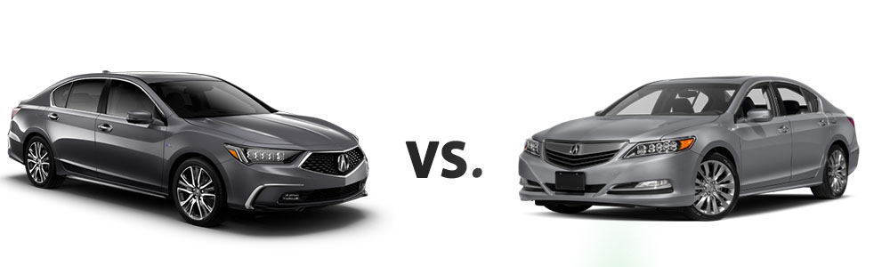 2018 Acura RLX vs. 2017 Acura RLX