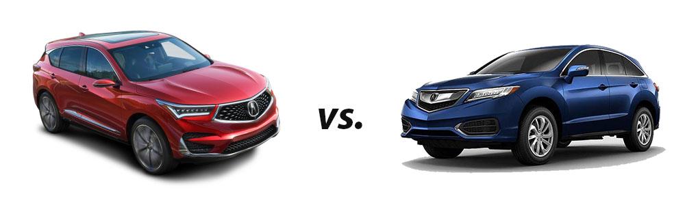 2019 Acura RDX vs. 2018 Acura RDX