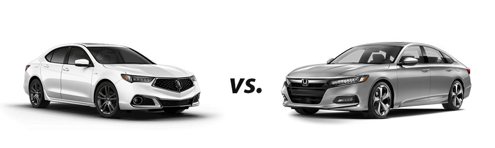 2018 Acura TLX vs. 2018 Honda Accord