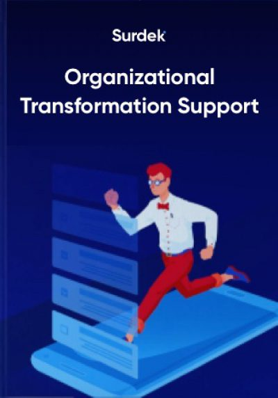 Organizational transformation support