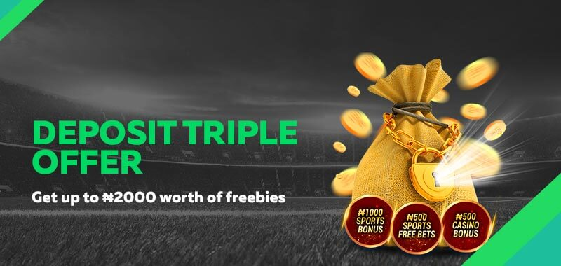 Deposit Triple Offer