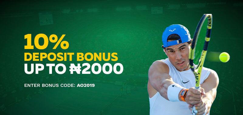 Australian Open Free Bet