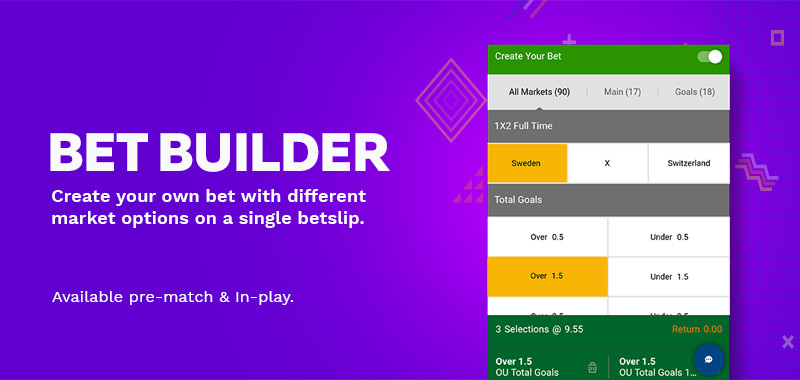 Bet Builder - Create Your Bet