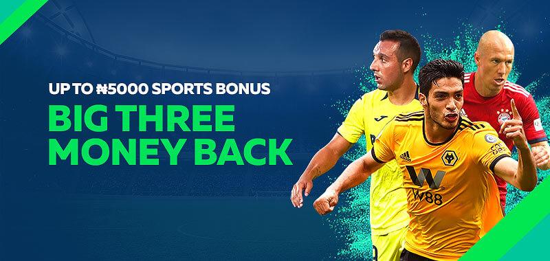 Big Three Moneyback Bonus