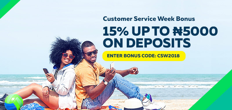 Customer Service week Bonus