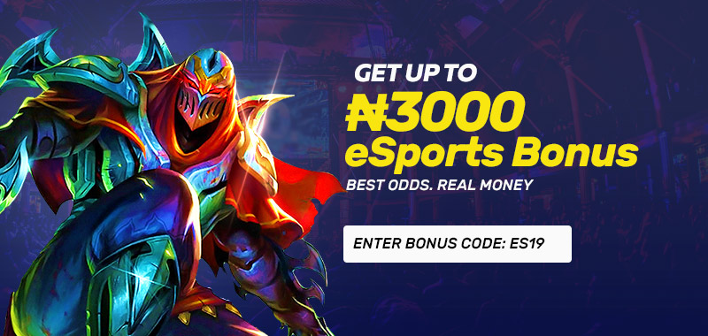 E-Sports Betting Bonus