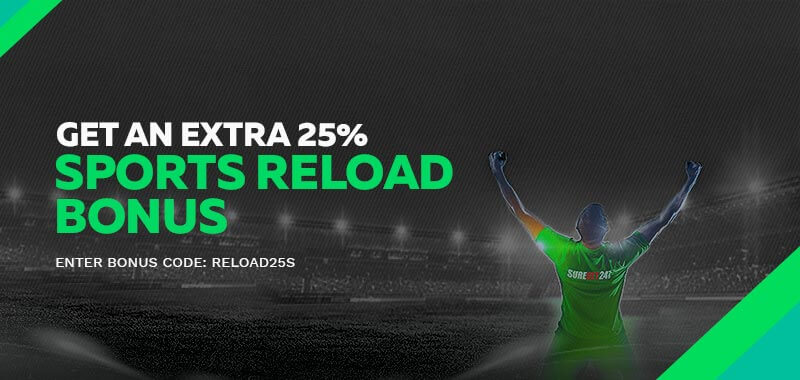 Enjoy Free Bet (Reload) Bonus