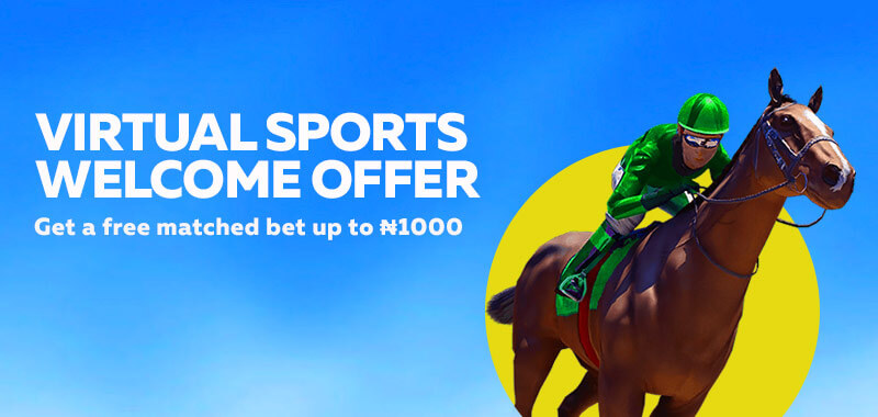 Virtual Sports Welcome Offer