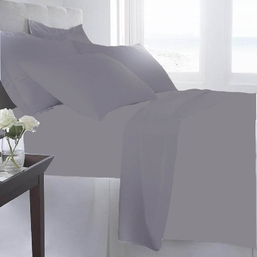 Luxury-Home-Super-Soft-1600-Series-Double-Brushed-6-Pcs-Bed-Sheets-Set thumbnail 26