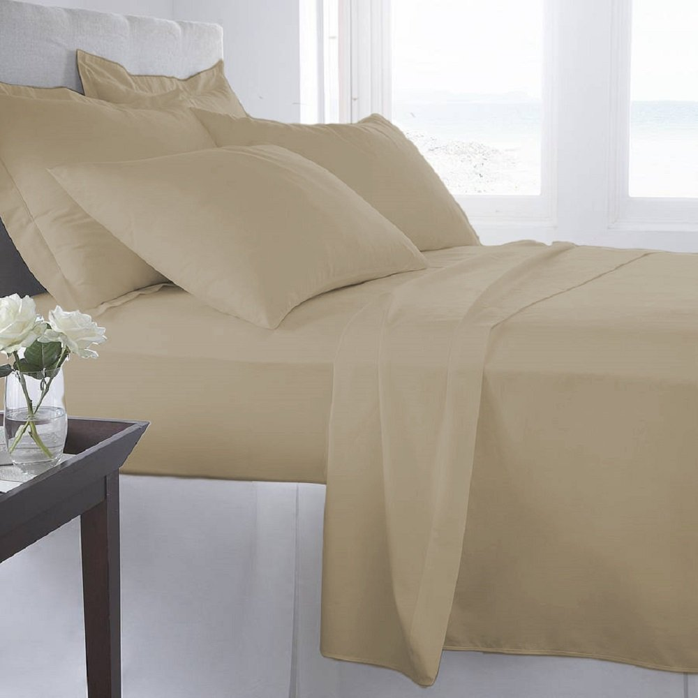 Luxury-Home-Super-Soft-1600-Series-Double-Brushed-6-Pcs-Bed-Sheets-Set thumbnail 29