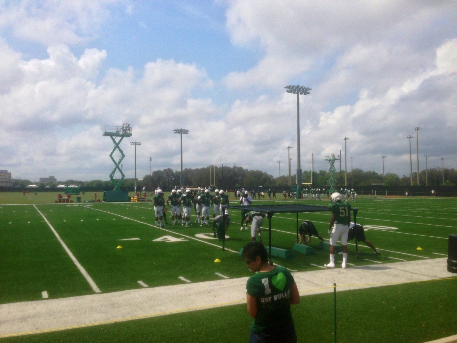 USF South Florida Bulls Season Ticketholder Open Practice 23