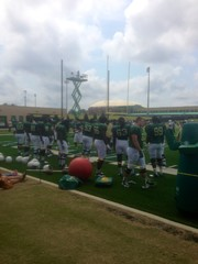 USF South Florida Bulls Season Ticketholder Open Practice 21