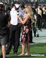 Melanie Collins interviews Coach Taggart