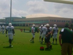 USF South Florida Bulls Season Ticketholder Open Practice 19