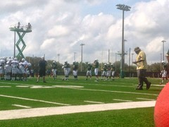 USF South Florida Bulls Season Ticketholder Open Practice 6