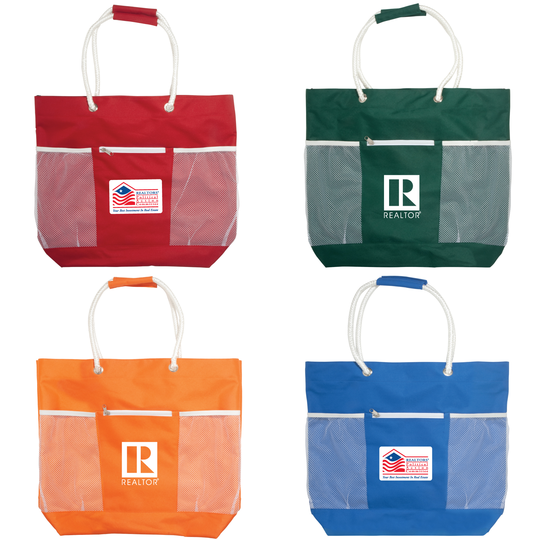 Beachfront Rope Handle Tote - Special Order Totes,bags,beaches,