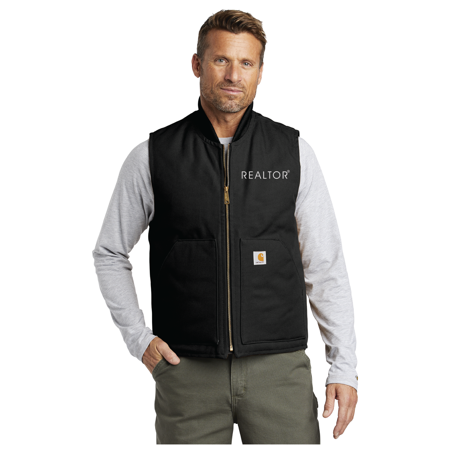 Carhartt® Duck Vest Vest, Jacket, Trending, Carhartt, Duck, Heavy, Mens, Industrial, Workwear, Construction