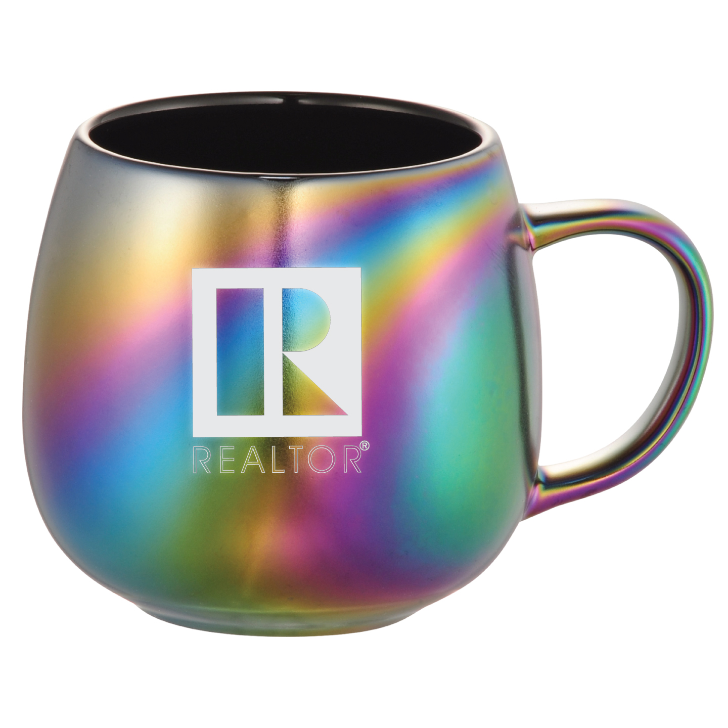 Iridescent Ceramic Mug 15oz - RTS4703