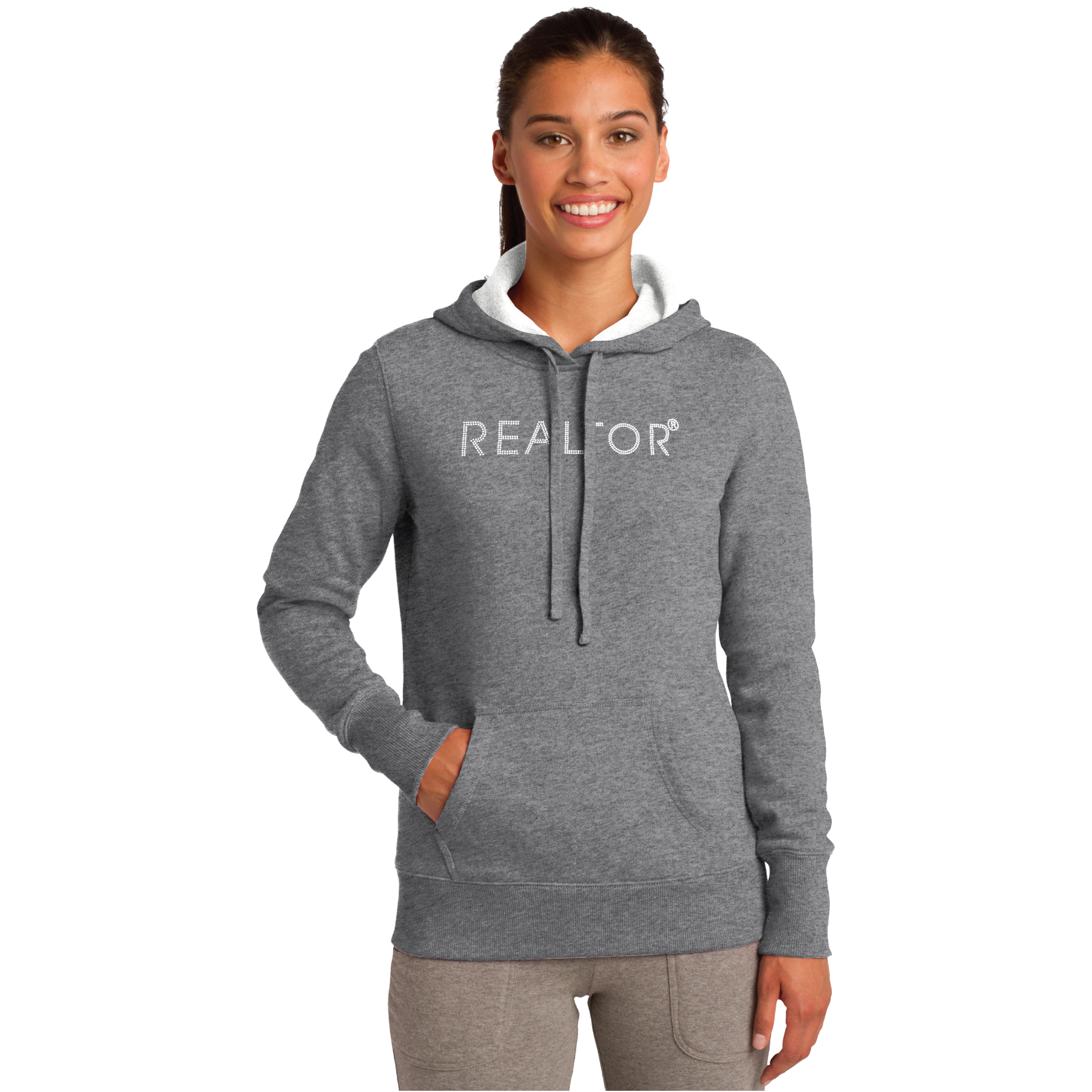 Ladies Hooded Sweatshirt BLING - RCL3255