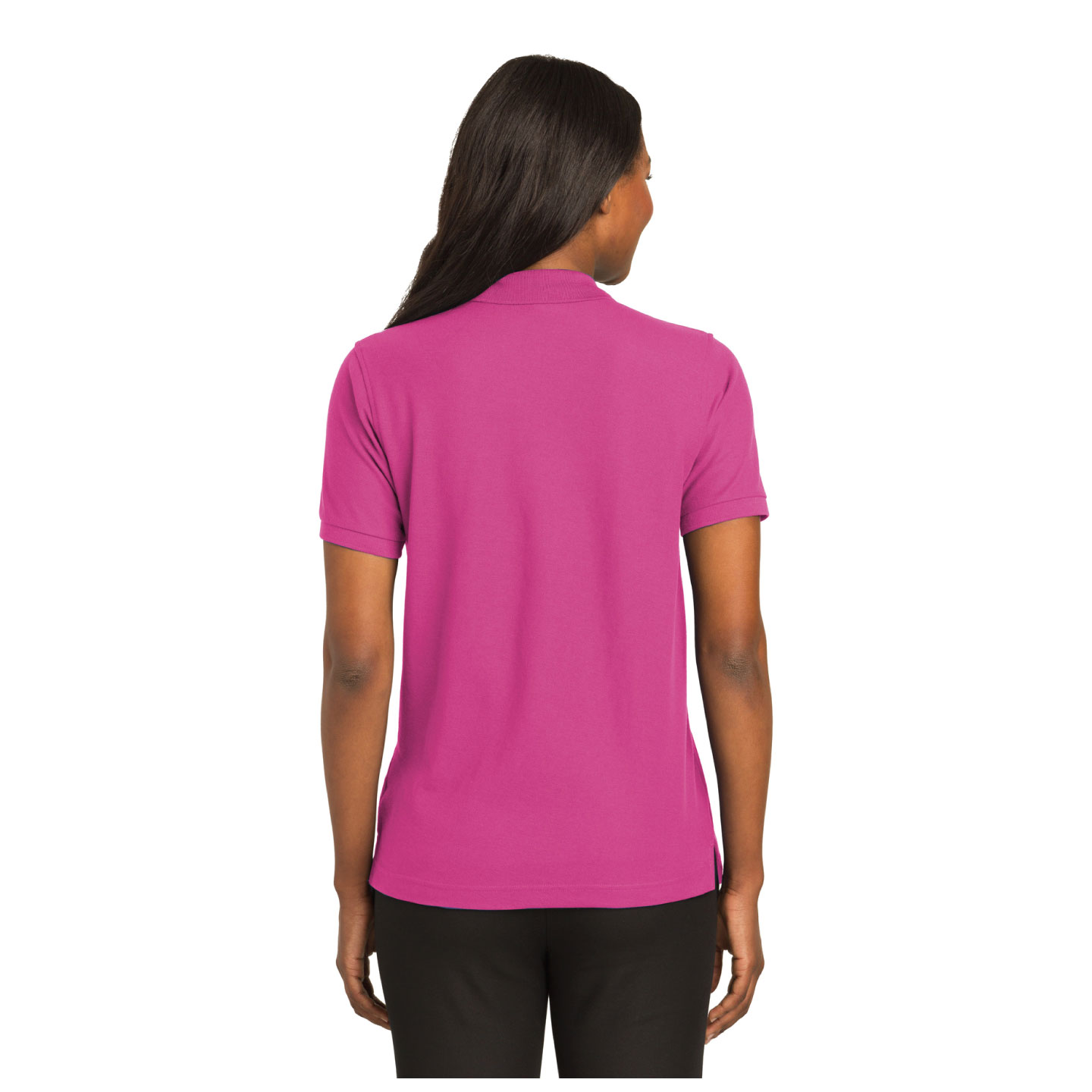 """That's Who We R"" Ladies Pique Polo Shirt - TCL4108"