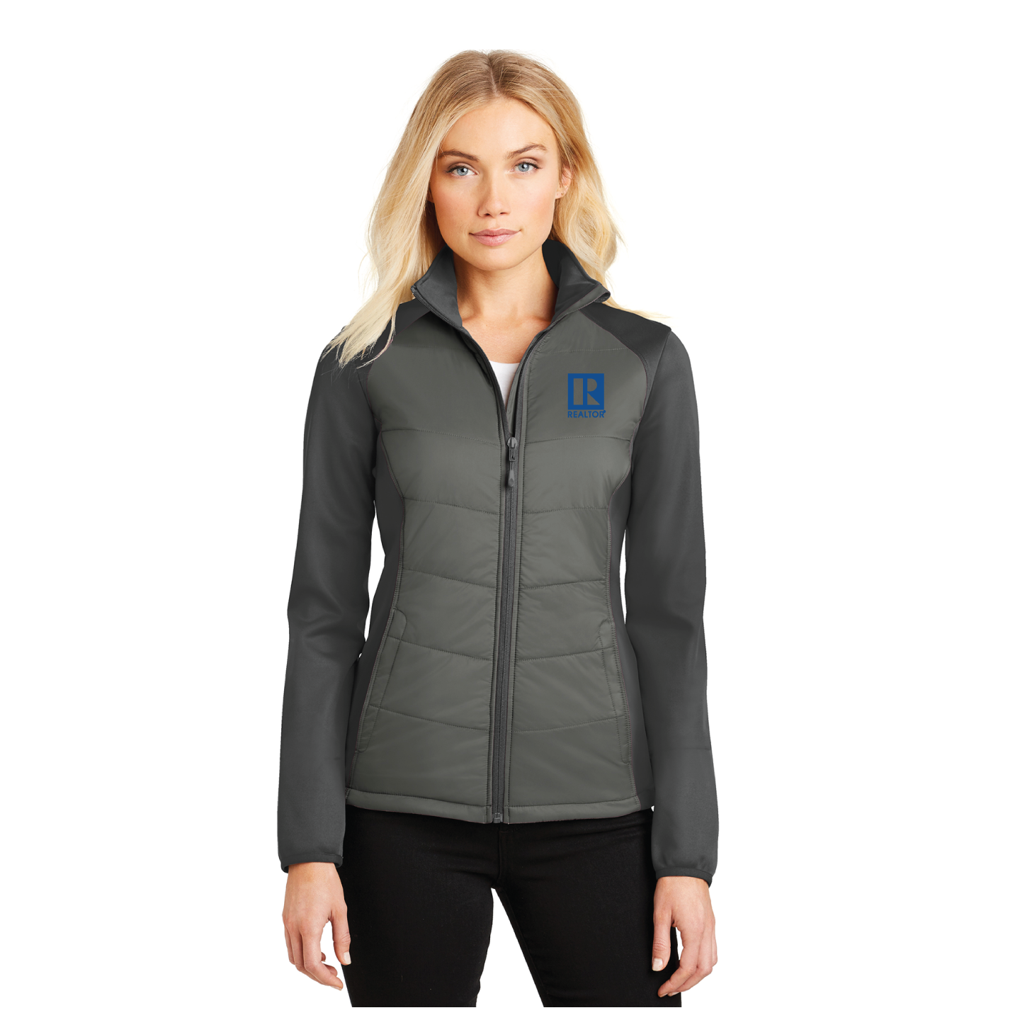 Ladie's Quilted Softshell Mashup Jacket - RCL4107