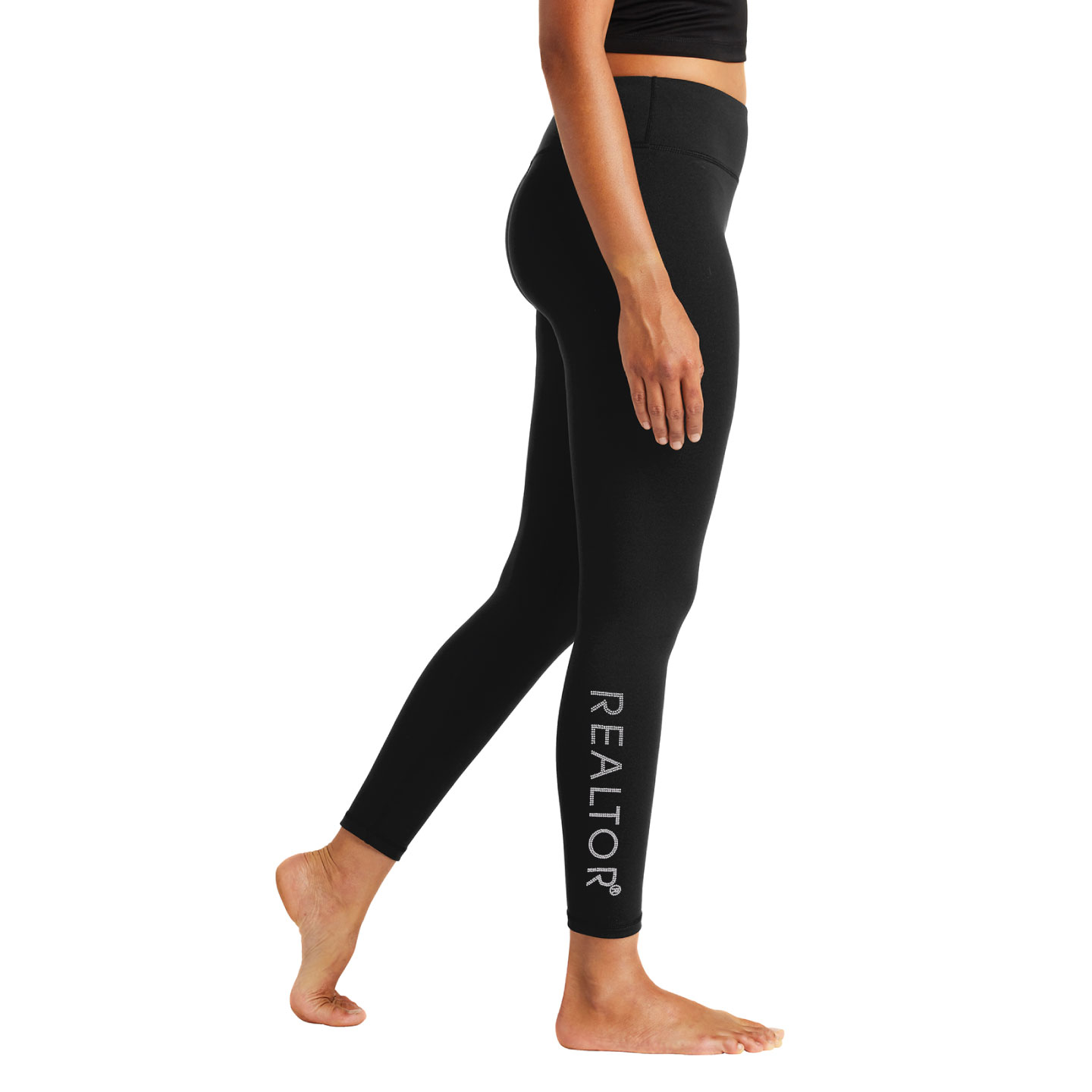 Ladies Thick Sport Leggings Bling, Leggings, Sport, Yoga, Trendy, Slimming