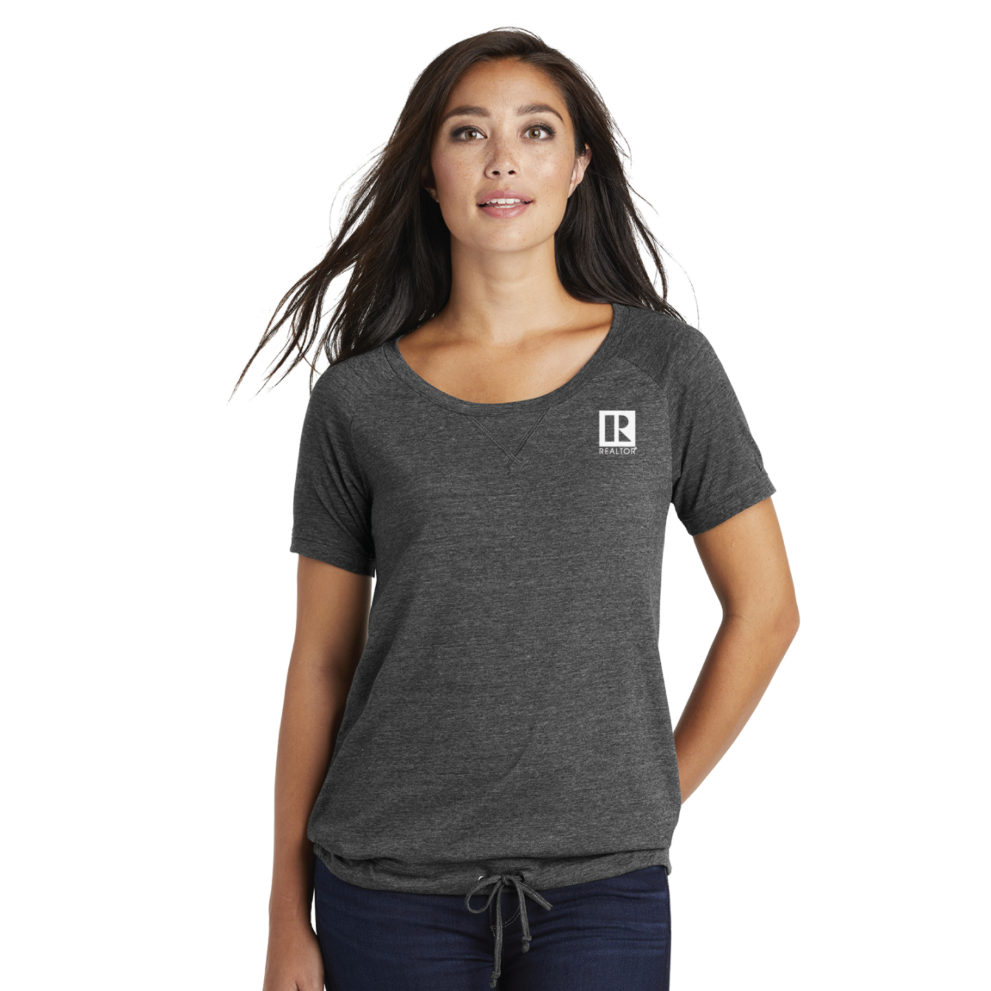 New Era ® Ladies Tri-Blend Performance Cinch Tee - RCL4105